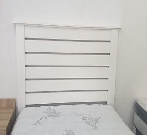 headboard white